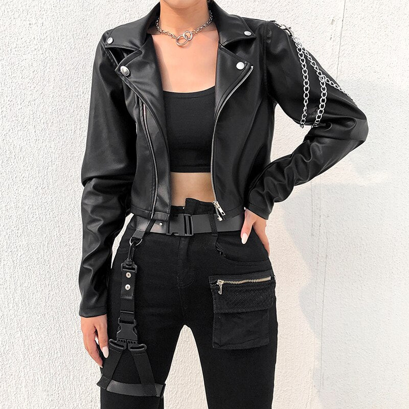 Chained Moto Jacket