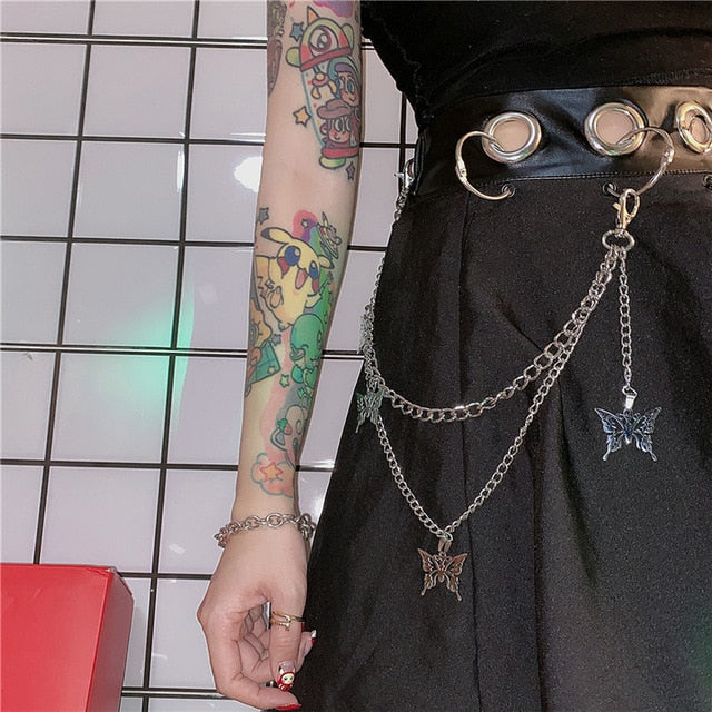 Mystic Flight Butterfly Belt Chain