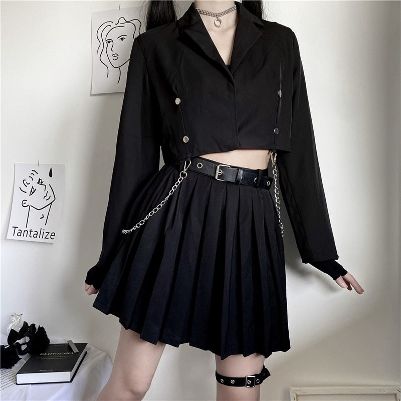 Witching Hour Pleated Skirt