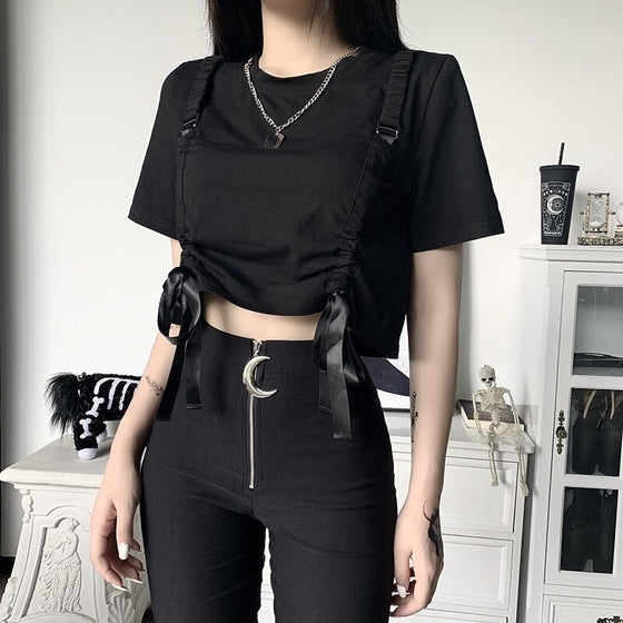 Madness Ruched Crop Top