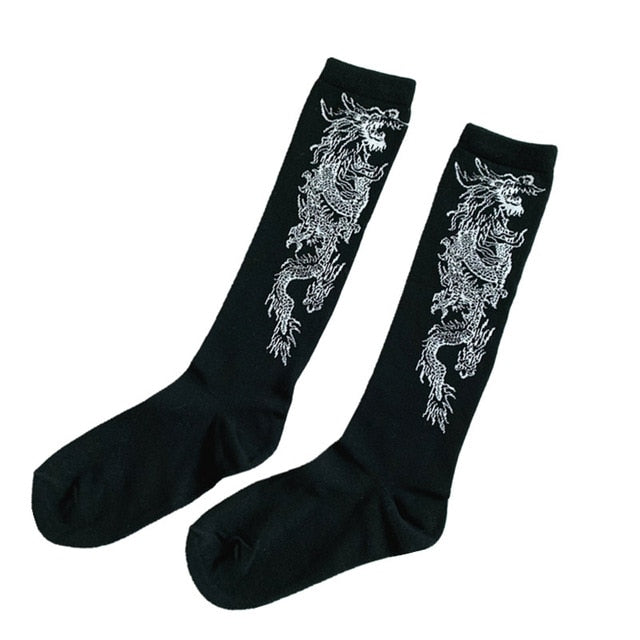 Fire Breathin' Dragon Socks