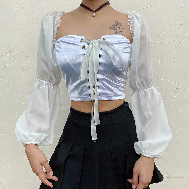 Fool For You Crop Top