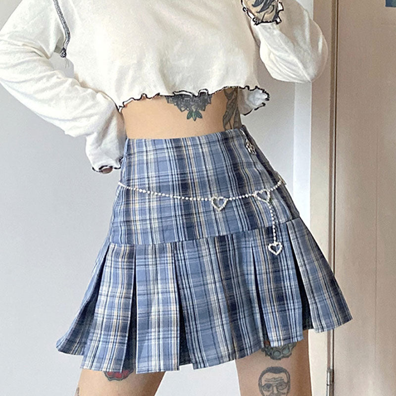 Picnic Party Plaid Skirt
