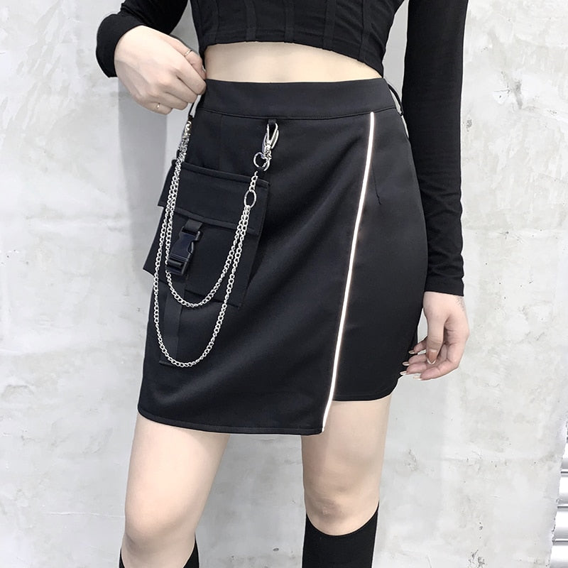 Slay Wrap Mini Skirt