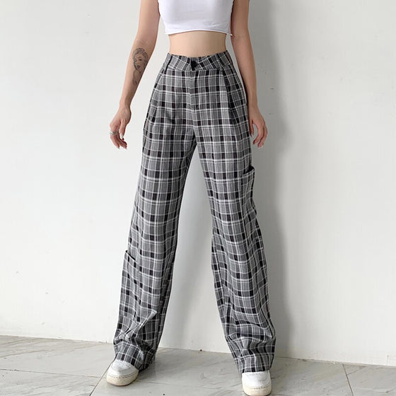 Prep Sister Plaid Pants