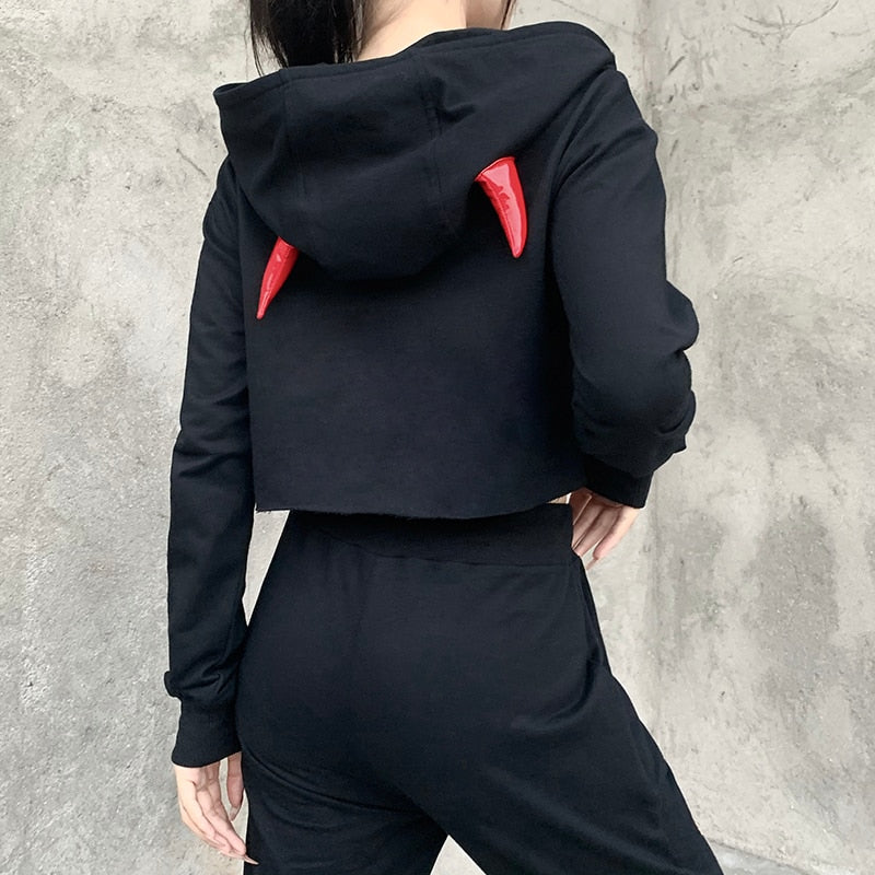 Eternal Devil Hoodie Top