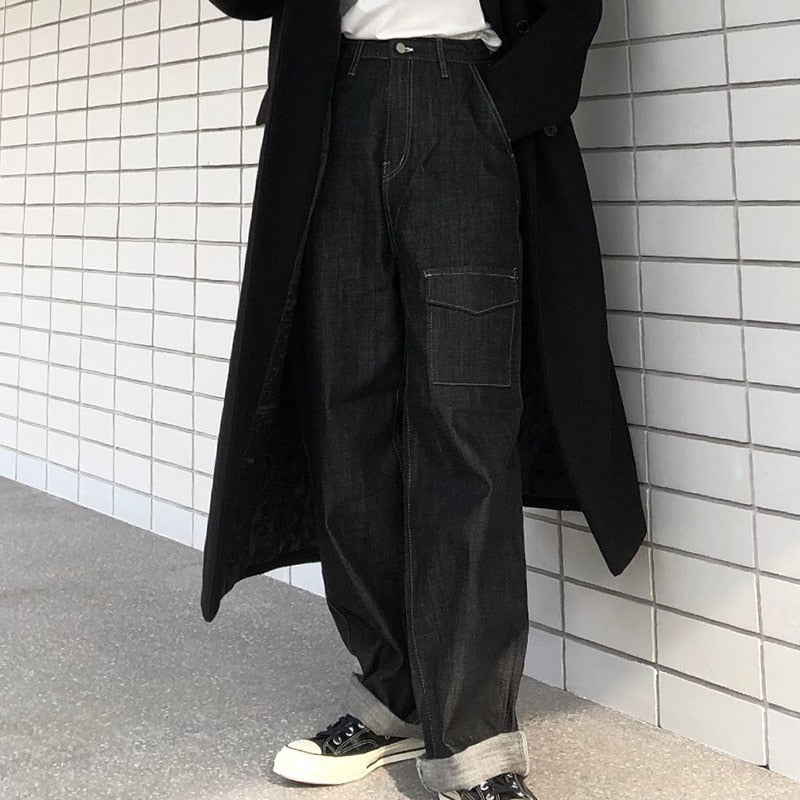 Dark Denim Carpenter Pants