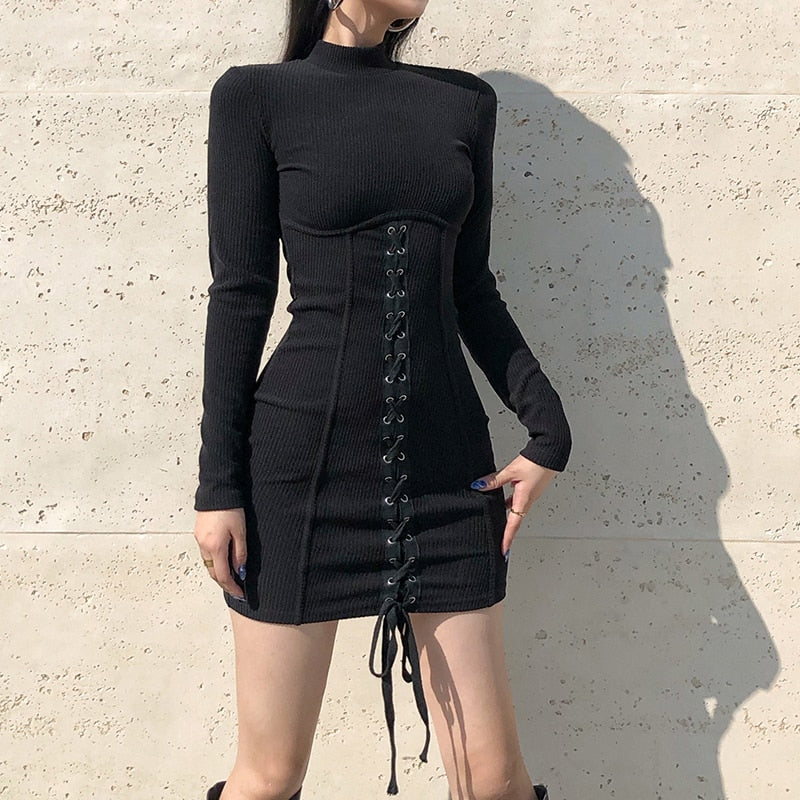 Brutal Ballad Lace-Up Dress