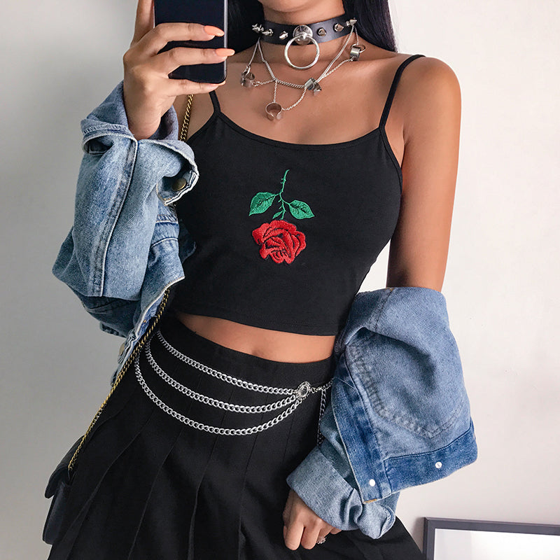 Love Rose Tank Top