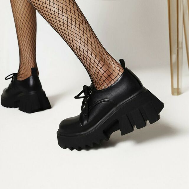 Super Chunky Lace Up Shoes