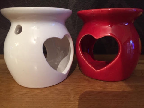 Stubby Heart Wax melting pots