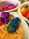 Dino Exploration BathBomb in a Pot