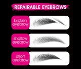 Eyebrow fiber extension