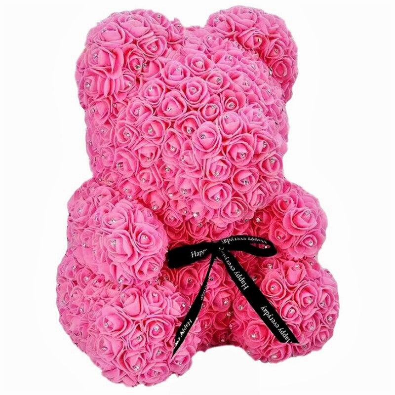 Diamond Exclusive Luxury Rose Bear - Madeofrose