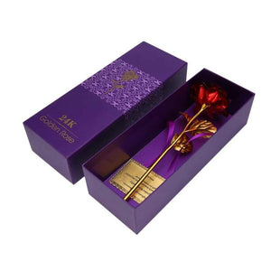 24K Golden Rose – RED - Madeofrose