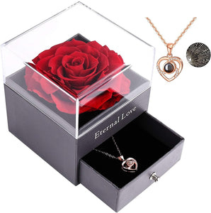 Rose Jewelry Box With Necklace™