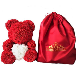 Rose Bear With Madeofrose Bag™ - Madeofrose
