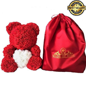 Rose Bear With Exclusive Bag™⭐ - Madeofrose