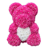 Diamond Exclusive Luxury Rose Bear