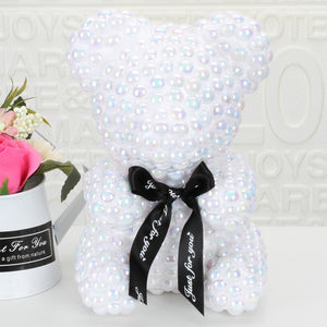 [NEW] Exclusive Pearl Rose Bear - Madeofrose