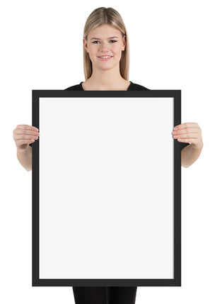 Framed Posters Vertical (Premium Luster Photo Paper)