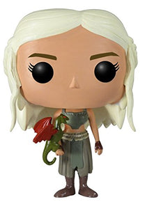 Funko POP Game of Thrones: Daenerys Targaryen Vinyl Figure (Colors May Vary) - Garrison City Toy Work's