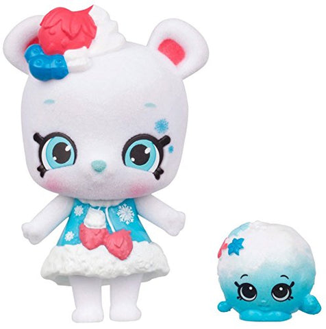 Shopkins Wild Style Snow-Fro Shoppet and Fluffy Snow Ball Exclusive - Garrison City Toy Work's