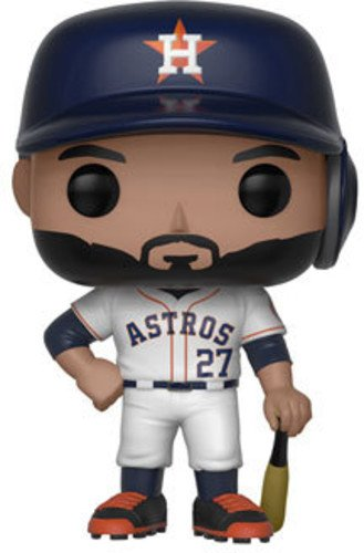 Funko POP!: Major League Baseball José Altuve Collectible Figure, Multicolor - Garrison City Toy Work's