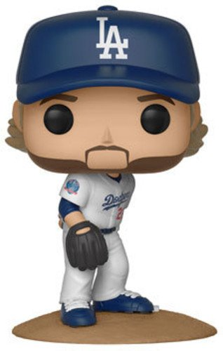Funko POP!: Major League Baseball Clayton Kershaw Collectible Figure, Multicolor - Garrison City Toy Work's
