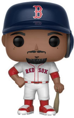 Funko POP!: Major League Baseball Mookie Betts Collectible Figure, Multicolor - Garrison City Toy Work's