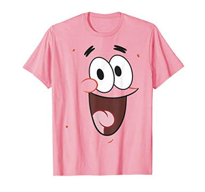 SpongeBob SquarePants Patrick Face Portrait T-Shirt - Garrison City Toy Work's