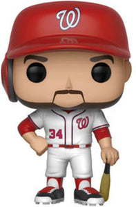 Funko Pop: Major League Baseball-Bryce Harper Collectible Figure, Multicolor - Garrison City Toy Work's