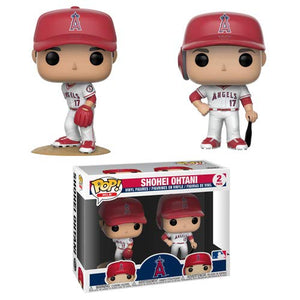 Funko Pop MLB: Angels - Shohei Ohtani Vinyl Figures (2-Pack) - Garrison City Toy Work's