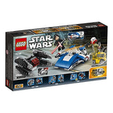 LEGO Star Wars: The Last Jedi A-Wing vs. TIE Silencer Microfighters 75196 Building Kit (188 Piece) - Garrison City Toy Work's