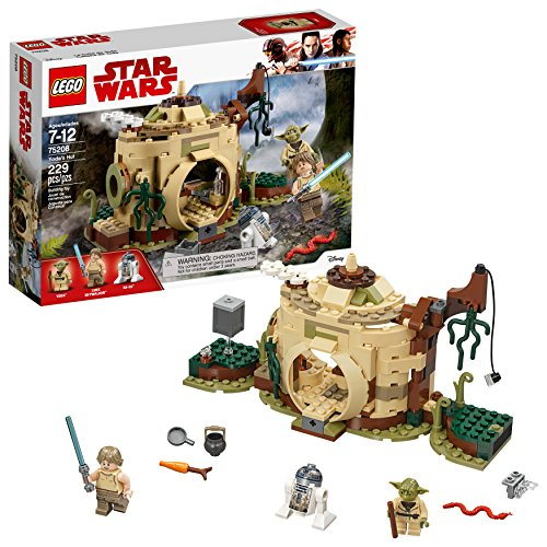 LEGO Star Wars: The Empire Strikes Back Yoda's Hut 75208 Buildin g Kit (229 Pieces) (Discontinued by Manufacturer)