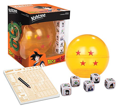USAopoly Dragon Ball-Z Yahtzee Game - Garrison City Toy Work's
