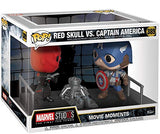 Funko Pop Movie Moments: Marvel- Captain America and Red Skull Collectible Figure, Multicolor - Garrison City Toy Work's