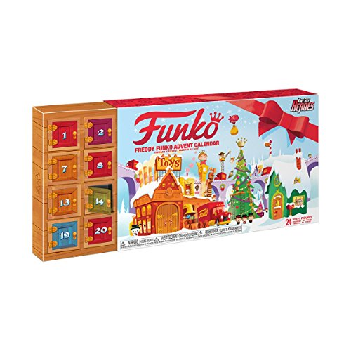 Pint Size Heroes Freddy Funko Advent Calendar [24 Vinyl Figures]