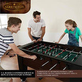 BARRINGTON 58 inch Richmond Foosball Table - Garrison City Toy Work's