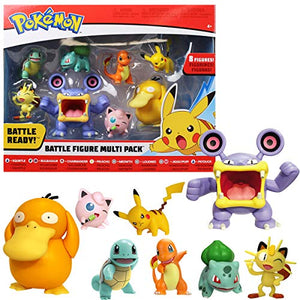 PoKéMoN Battle Action Figure Multi 8 Pack - Garrison City Toy Work's