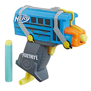NERF Fortnite Micro Battle Bus Microshots Dart-Firing Toy Blaster - Garrison City Toy Work's