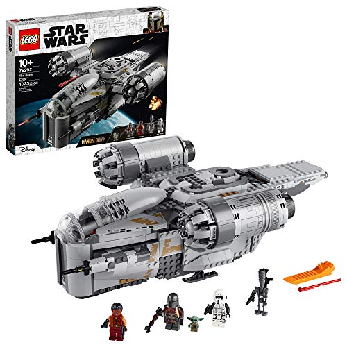 LEGO Star Wars: The Mandalorian The Razor Crest 75292 Building Kit, New 2020 (1,023 Pieces)