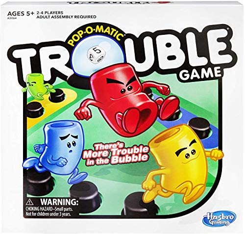 Trouble Game - Garrison City Toy Work's