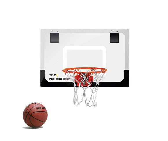 SKLZ Pro Mini Basketball Hoop with Ball, Standard (18 x 12 Inches) - Garrison City Toy Work's