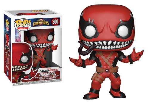 Funko POP! Games: Marvel - Contest of Champions - Venompool Collectible Figure - Garrison City Toy Work's