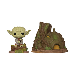 Funko Pop! Town: Star Wars - Yoda's Hut - Garrison City Toy Work's
