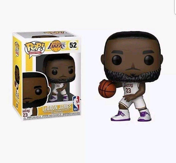 Funko POP! NBA: Lakers - Lebron James (White Uniform)