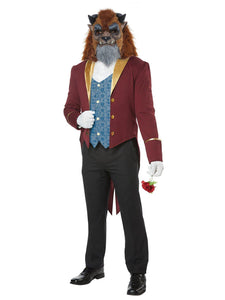 California Costumes Men's Storybook Beast Adult Man Costume, Multi, Extra Large - Garrison City Toy Work's