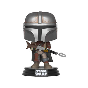 Funko Pop! Star Wars: Mandalorian - The Mandalorian - Garrison City Toy Work's