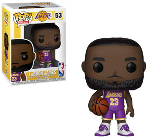 Funko Pop! Basketball Lebron James Purple Lakers Uniform - Garrison City Toy Work's